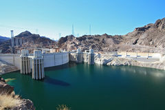 Hoover Dam USA Royalty Free Stock Images
