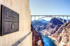 Hoover Dam,USA Stock Photography