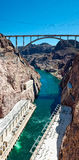 Hoover Dam Vertical Panorama Royalty Free Stock Photography