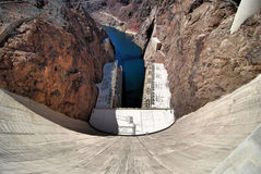 Hoover Dam. Views from Lake Mead and Hoover Dam near Las Vegas, Nevada Stock Photography