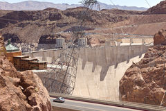 Hoover Dam visitor center Nevada. Stock Image