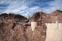Hoover dam visitor center Royalty Free Stock Image