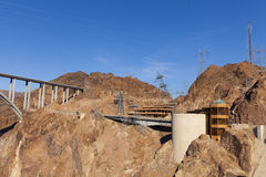 Hoover Dam Visitor Center and Bridge in Boulder City, NV on May Royalty Free Stock Photography