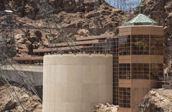 Hoover Dam visitor center building Stock Images