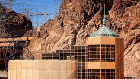 Hoover Dam Visitor Center Royalty Free Stock Photo