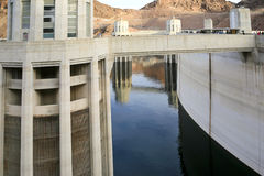 Hoover Dam Water Intakes Royalty Free Stock Photography