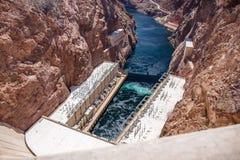 The Hoover Dam. Stock Photos