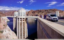 Hoover jeziora & tamy dwójniak Fotografia Stock