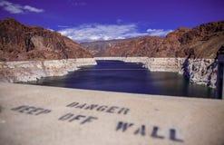 Hoover jeziora & tamy dwójniak Zdjęcia Stock