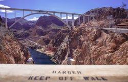 Hoover jeziora & tamy dwójniak Obrazy Stock