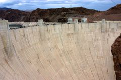 Hoover Tama zdjęcia stock