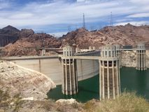 Hoover tamy Nevada usa Zdjęcie Royalty Free