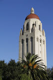 Hoover Tower. The Hoover Tower at Stanford University Stock Photos