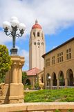 Hoover Tower and Buildings at Stanford University Royalty Free Stock Image