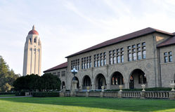 Hoover tower in Stanford University Stock Photos