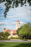 Hoover Tower in Stanford University Campus Stock Photography