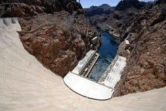 Hooverdam Las Vegas запруды Hoover стоковые фото