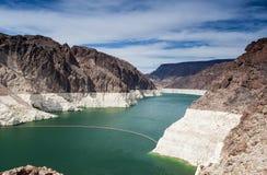 Hooverdam, Meerweide, de Grens van Staten Nevada-Arizona, de V.S. Royalty-vrije Stock Fotografie