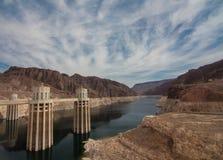 Hooverdam in Nevada, de V Royalty-vrije Stock Afbeelding