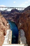 Hooverdamm stockbild