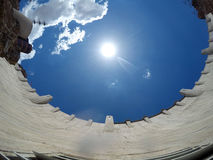 Hooverdamm an der Colorado-Strom USA 3 lizenzfreie stockbilder