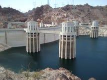 Hooverdamm Nevada Stockbild