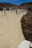Hooverdamm in See Powell Lizenzfreies Stockbild