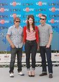 Hooverphonic alGiffoni filmfestival 2011 Arkivfoton