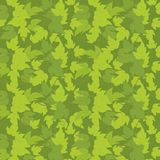 Hop green leaves background template. Plant solid fill. Vector flat Illustration. Square banner format stock clipart. Dark green. Hop green leaves background vector illustration