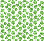 Hop. Pattern Stock Photography