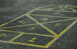 Hop Scotch Royalty Free Stock Photo