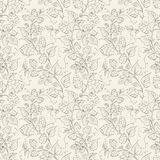Hop seamless pattern. Vector illustration Royalty Free Stock Image