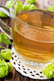 Hop tea Royalty Free Stock Images