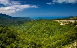 Hopa forests- Artvin - Turkey. Hopa forests and sky - Artvin - Turkey royalty free stock photography