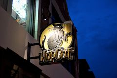 HopCat in Del Mar Loop, St Louis Missouri stock foto's