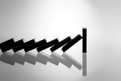 Hope. Image of Hope, created from the domino effect Stock Photos