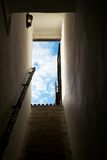 Hope. Stairs and open door Royalty Free Stock Images