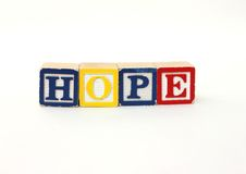 HOPE Royalty Free Stock Images