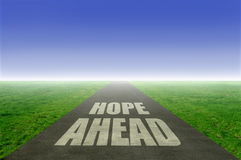Hope ahead Stock Photography