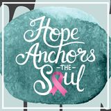 Composite image of hope anchors the soul Stock Image