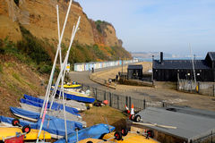 Hope beach, Shanklin. Stock Images