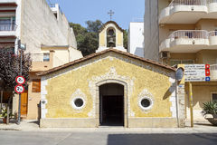 Hope Chapel in Blanes Royalty Free Stock Photo
