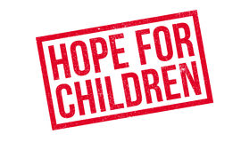Hope For Children rubber stamp Stock Photo