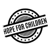 Hope For Children rubber stamp Stock Photography