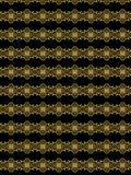 Hope and choice. Special textile pattern for different uses in black and golden tones Royalty Free Stock Photo