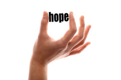 Less hope Stock Photography