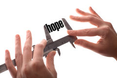 Less hope Royalty Free Stock Photo