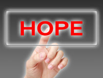 Hope Concept Royalty Free Stock Photography
