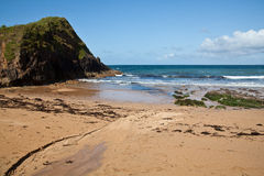 Hope cove, Devon, England. Royalty Free Stock Photo