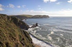 Hope Cove, Devon, England Stock Image
